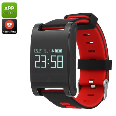 Domino DM68 Bluetooth Smart Bracelet (Red)