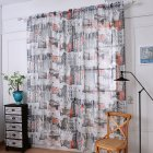 Door Window Tulle Curtain Drape Panel Sheer Scarf Valances Drapes In Living Room Home Decor 1.45 meters wide x 1.8 meters high