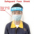 Double Anti-fog High Penetration PET Environmental Protection Double Protection Adult Mask Transparent