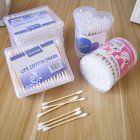 Double Head Cotton Swab Disposable Makeup Nose Ears Cleaning Tools