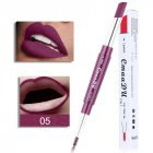 Double Head Lipstick Lip Liner Pen Waterproof Long-lasting Lip Liner Contour Pen  05