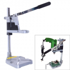 Double-head Electric Drill Holder Dremel Grinder Bracket Clamp Workbench Double head bracket