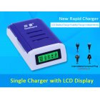 Doublepow 1.2V 4 Slots Intelligent Battery Charger for AA /AAA NiCd NiMh Rechargeable Batteries