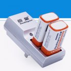 Doublepow 2 Slots 9V Battery Charger Full Automatic Stop Charging Charger for Rechargeable Batteries