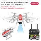 Drone Ky909 Hd 4k Wifi Video Live Fpv Drone Light Flow Keep Height Quad-axis Aircraft One-button Take-off Drone with Box white_480P (color box)