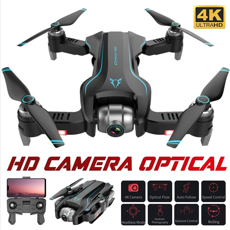 Drone Profissional 4K/1080P Quadrocopter with camera RC Helicopter Altitude Holding Headless Mode FPV toys for Adults Kids 1080P 1 battery