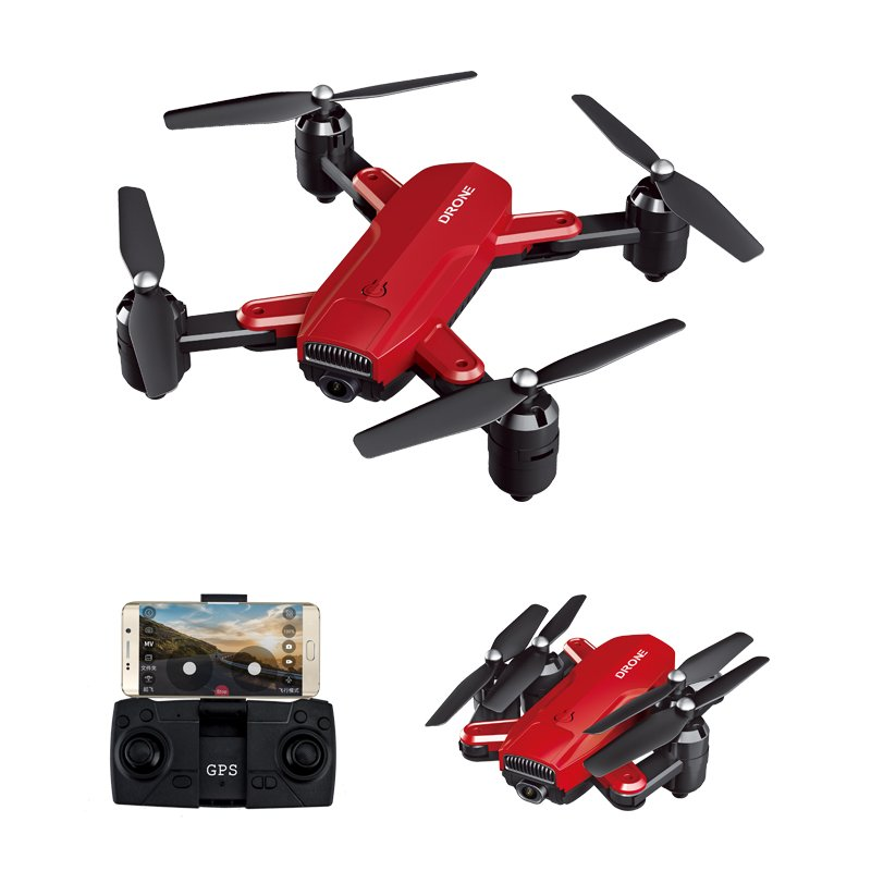 Drone ZD6-GPS WIFI FPV 1080 HD Camera Wide-angle Optical-Flow Foldable Selfie Drone Toys for Kids Children Boys Girls  4K
