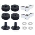 Drum Accessories Kit Cymbal Felts + Cymbal Sleeves + Wing Nuts + Washers Drum Accessories Kit