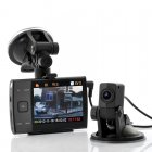 Dual Camera Car DVR HD 720p