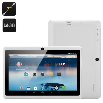 7 Inch Dual Core Tablet 'Horus 16GB' (White)