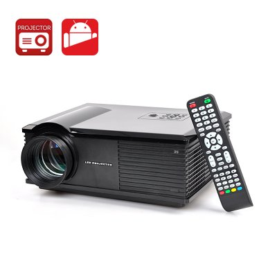 Android 4.4 Dual Core LED Projector