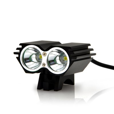 Dual Cree LED Bicycle Headlight w/ 1600 Lumen