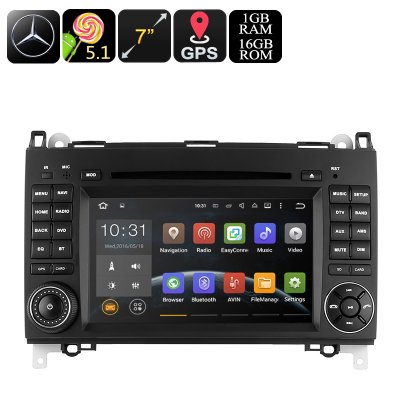 Dual-DIN Car DVD Player Mercedes-Benz B200