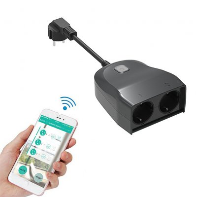 Outdoor Waterproof Smart Socket - EU Plug