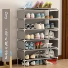 Dustproof Assemble Shoes Rack Simple Modern Home Breathable Storage Shelf  HBY07A