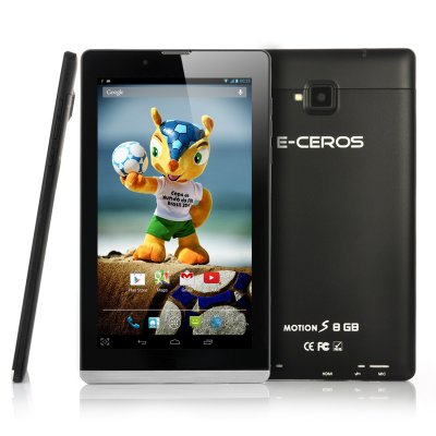 E-Ceros Motion S Quad Core Android Tablet (B)
