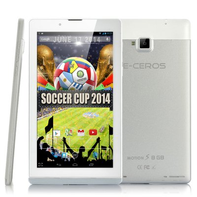 E-Ceros Motion S Quad Core Tablet (S)