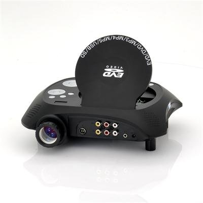 LED Projector with DVD Player