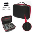 E520 Tavel Handbag Storage Bag Carrying Case Waterproof Portable Box RC Drone Quadcopter Spare Parts black