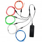 EL Wire Bright Colorful Neon Light