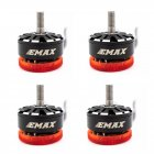 EMAX Pulsar 2306 1700KV 3 6S 2400KV 3 4S LED Light Brushless Motor CW Thread for RC Drone FPV Racing 4PCS 1700KV