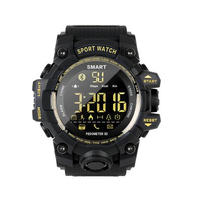 EX16S Waterproof Smart Sport Watch Black
