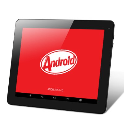 E-Ceros Revolution Android 4.4 Tablet (Black)