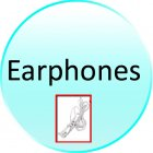 Earphone for CVKQ N06 8GB The Bomb   8GB MP6 Player with 4 3 Inch Touchscreen LCD