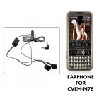 Earphones for CVEM M78   The Element Cellphone  Did you    misplace    your earphones