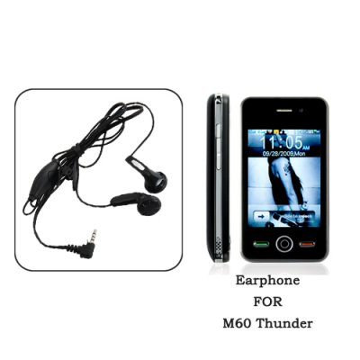 Earphones for M60