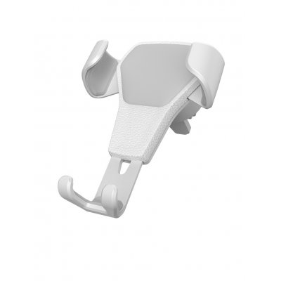 Air Vent Mount Stand Car Holder - White