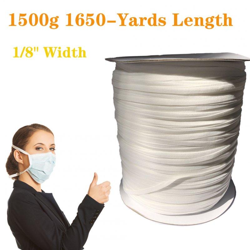 Wholesale Elastic Cord Sewing Elastic Bands Wide Braided Elastic
