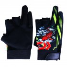 Elastic Non slip Breathable Wear Resistance 3 Finger Appearing Riding Gloves