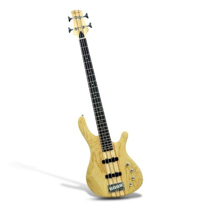 Bass Guitar w/ 24 Frets + x2 Volume/Tone