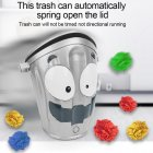 Electric Crazy Moving Trash Can Older Children Adult Decompression Toy Indoor Sports Competition As shown