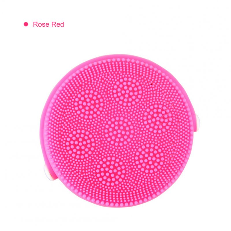 Electric Face Cleaner brush Silicone Waterproof Ultrasonic Pore Clean Instrument Spa Massager
