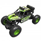 Electric Off-road Remote Control Car 1: 20 Wireless Charging Four-Wheel Drive Climbing Car Boy Toy green