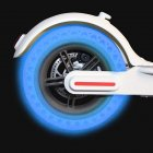 Electric Scooter Tire for Xiaomi MI Fluorescent Hollow Solid Tyre Honeycomb Damping Anti-explosion blue