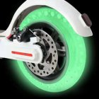 Electric Scooter Tire for Xiaomi MI Fluorescent Hollow Solid Tyre Honeycomb Damping Anti-explosion green
