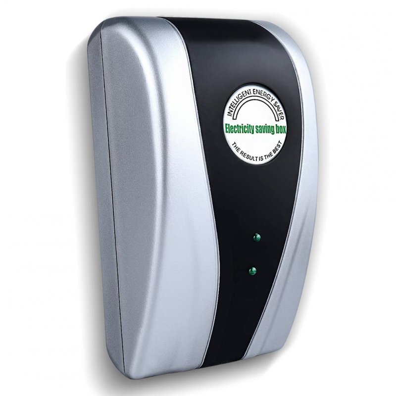 Electricity Saving Box 90V-250V Energy Power Money Saver Home Use UK/US/EU Plug EU plug, without capacitors
