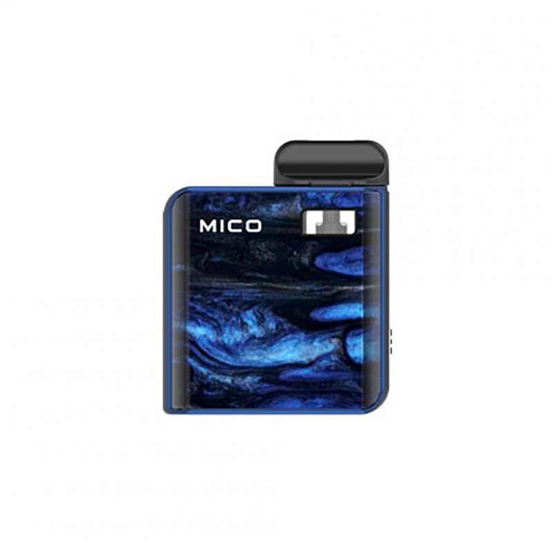 Electronic Cigarette SMOK Mico Resin AIO Pod Kit 700mAh E-Cigarette Set Prism Blue