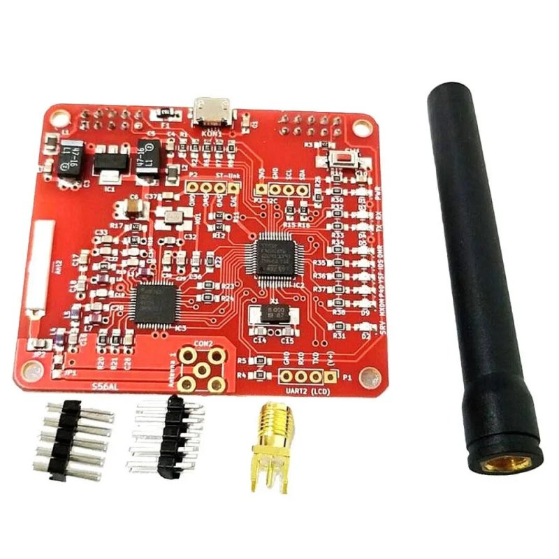 Electronic Component 2.0 MMDVM Hotspot Module Support P25 DMR YSF NXDN For Raspberry Pi Type B 3B 3B+ Red board