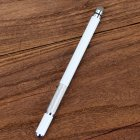 Electronic Dawing Pen Conductive Cloth + Sucker 2 in 1 Metal Capacitor Active Stylus Pen white