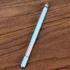 Electronic Dawing Pen Conductive Cloth + Sucker 2 in 1 Metal Capacitor Active Stylus Pen Light blue