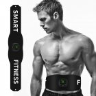 Electronic Display Abdominal Toning Belt