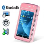 Elegance Dual SIM Quadband Cellphone w 3 Inch Touchscreen  Pink    A truly exceptional quadband GSM phone with flawless styling and superb functionality   This