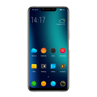 Elephone A5 Mobile Phone-Streamer Blue