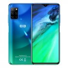 Elephone E10 Mobile Phone 6.5Inch MT6762D Octa Core 4GB 64GB 4000mAh Android 10 Quad Camera 48MP NFC Side Fingerprint Smartphone Aurora green
