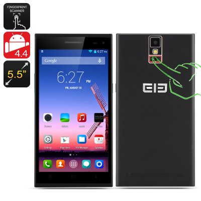 Elephone P2000 Android Phone (Black)