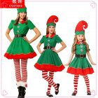 Elf Christmas Costume Halloween Cosplay Costume Children Performance Costume Female_110cm